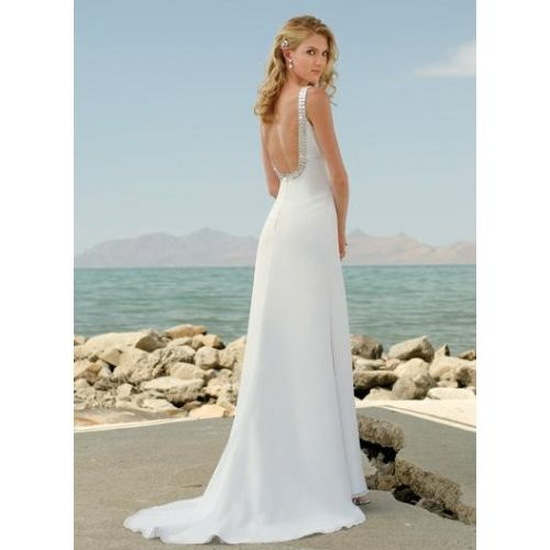 Modelos de vestidos de novia playeros
