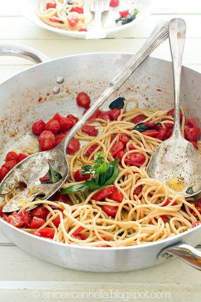 Spaghetti a Panzanella