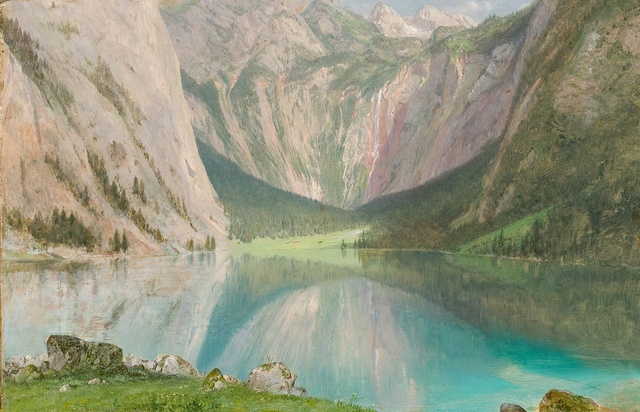 Obersee Frederic Edwin Church July 1868. © New York State Office of Parks, Recreation and Historic Preservation / Olana State Historic Site, Hudson, NY