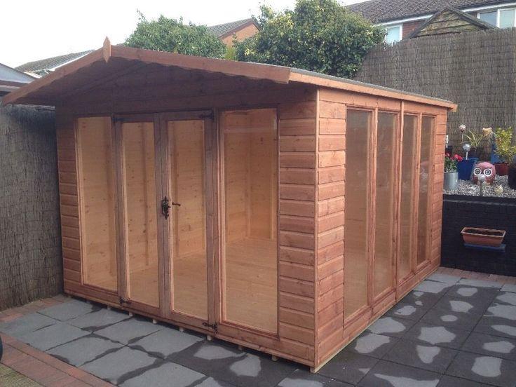 8x6 APEX SUMMER HOUSE STYLE2 (WENDY HOUSE )(PLAY HOUSE)(GARDEN SHED)(MODERN) in Garden & Patio, Garden Structures & Shade, Garden Sheds   eBay