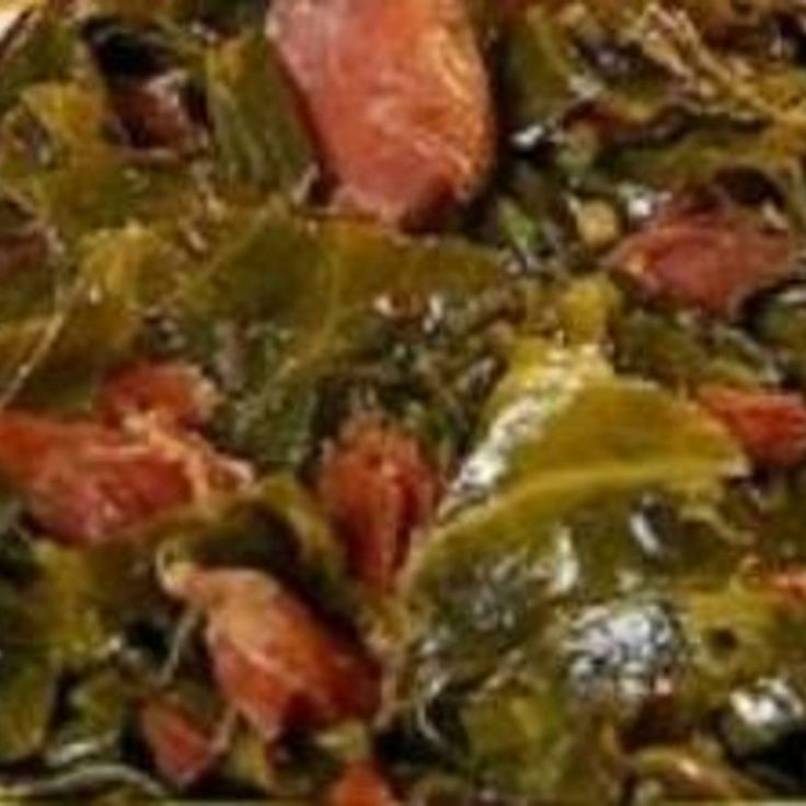 Southern Collard Greens w/ Bacon & Brown Sugar                                                                                                                                                                                 More