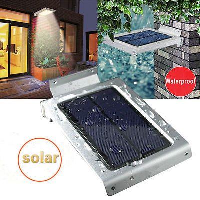 Solar Wandleuchte Solar Außenleuchte 46LED drahtlose Solarleuchte für Garten DHLsparen25.com , sparen25.de , sparen25.info