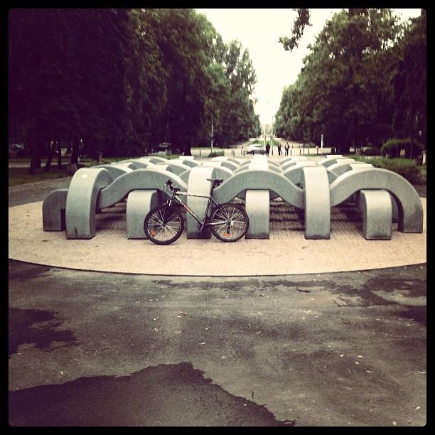 Found on Starpin. Warszawa #Warsaw Park Marszalka Smiglego-Rydza