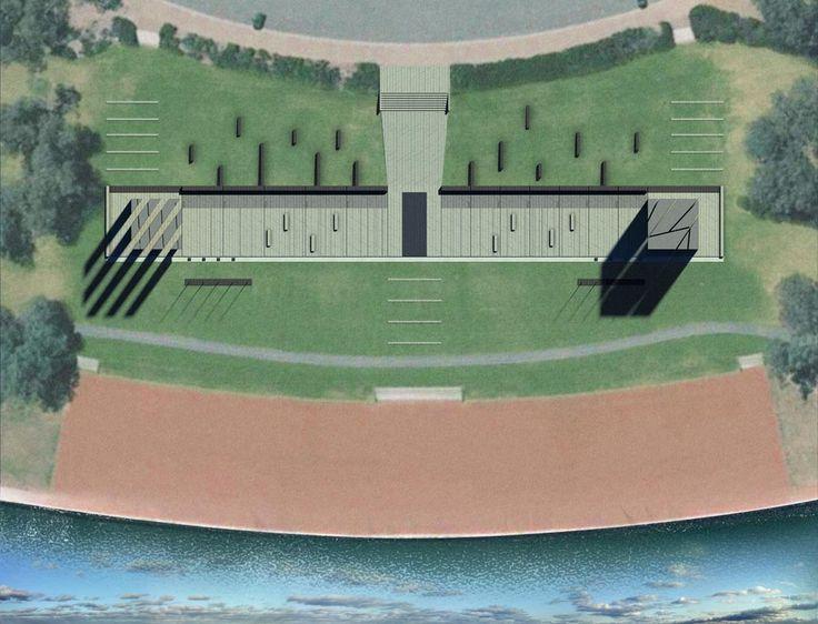 WWI & WWII Memorials Plan | Richard Kirk Architect