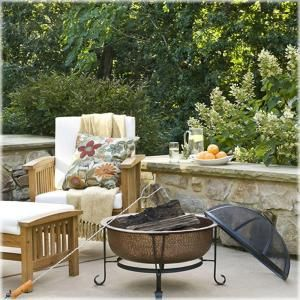 CobraCo FTCOPVINT C Vintage Copper Fire Pit Relax And Unwind In Your  Backyard With The Moonlight And The Warm Glow Of The Fire From Your CobraCo  Vintage 100