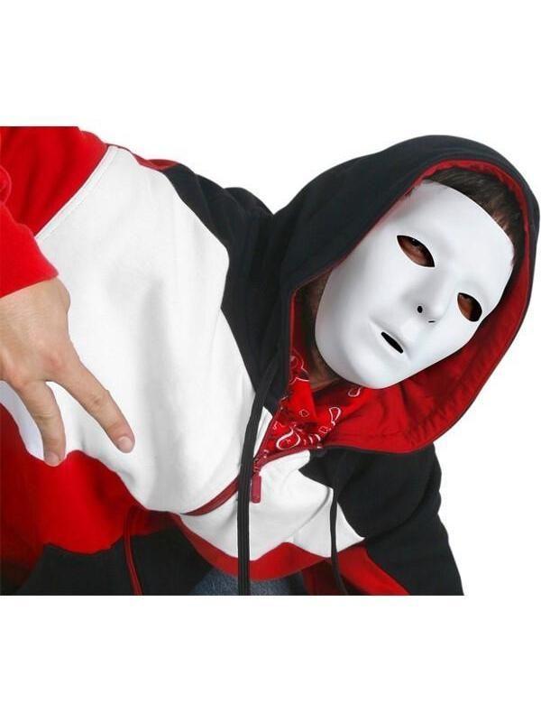 Blank Drama Male Mask Set of Five