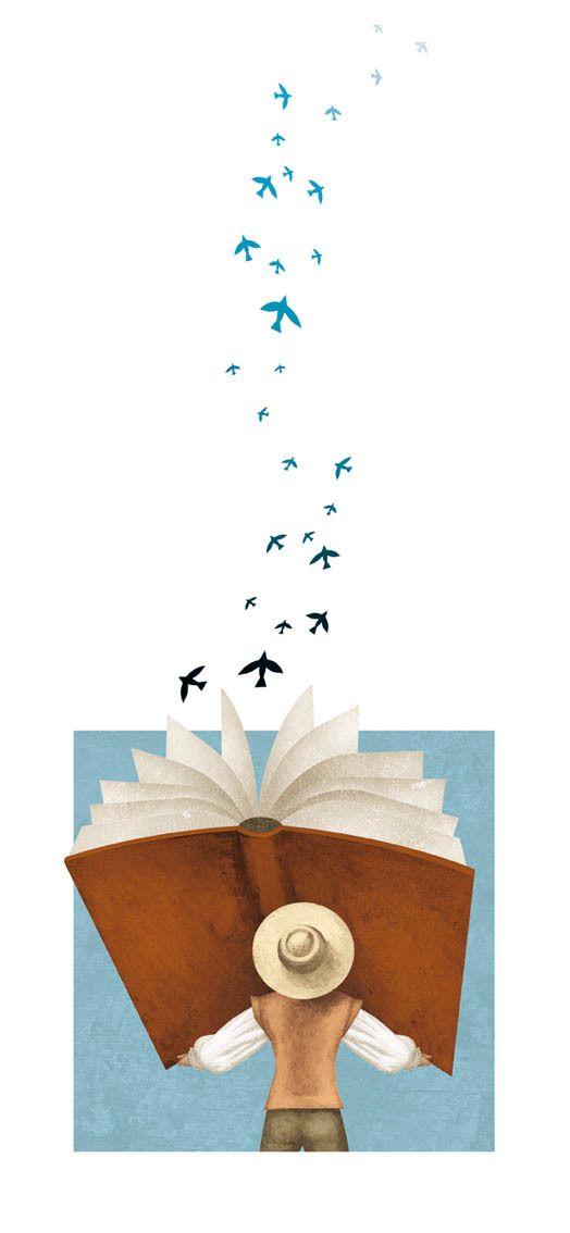 Ilustraciones para libro de texto de lengua y literatura 0