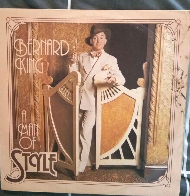 Bernard King A Man Of Style Vinyl LP in Music, Records | eBay!