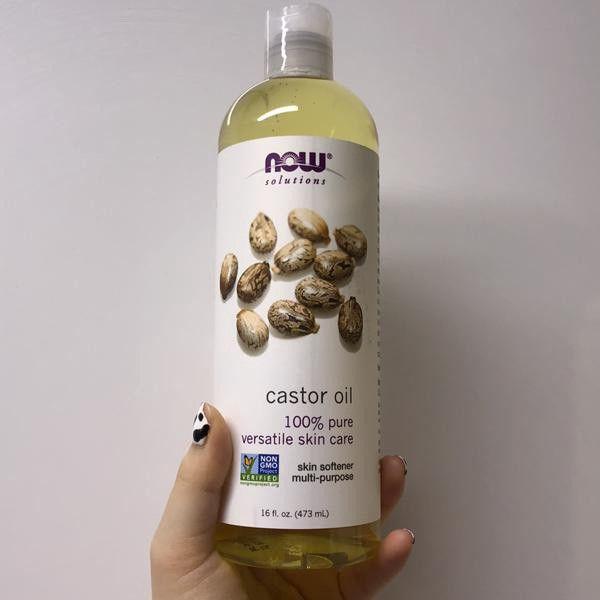 زيت الخروع النقي Oils For Skin Oil Skin Care Skin Care