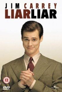 LIAR LIAR.  Director Tom Shadyac.  Year: 1997.  Cast: Jim Carrey, Maura Tierney, Justin Cooper, Cary Elwes