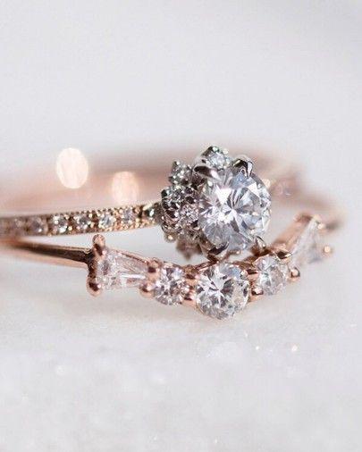 Vintage-inspired engagement ring!