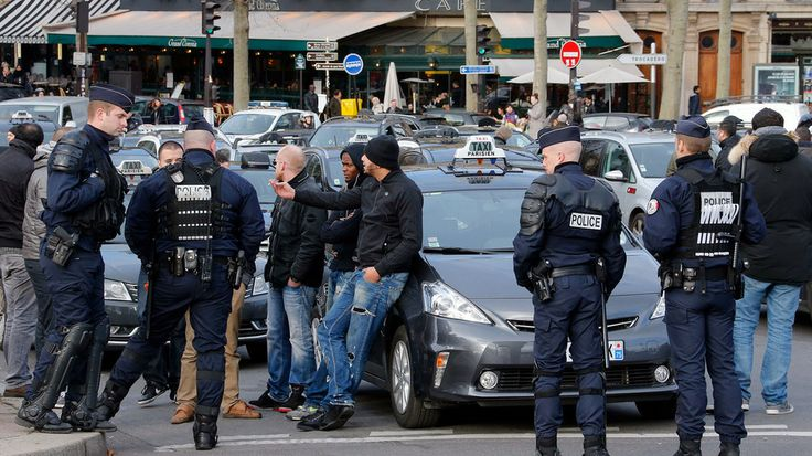 Battle of the Cabs: Taxi Drivers Attack Ubers in Violent Paris Protest.
