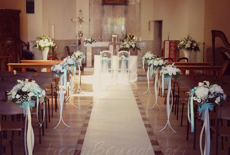 Allestimento chiesa#tiffany#tironibrunofiori