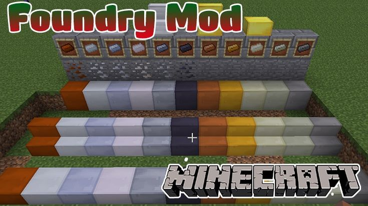 Foundry mod 1.11.2/1.10.2 allows you to melt items and blocks into materials using special pots (and much more fun features). You should try it.  To begin, you need a Foundry, a specialty of the mod:   Smelt items and...