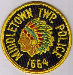 Middletown Twp. Police Patch (NJ)