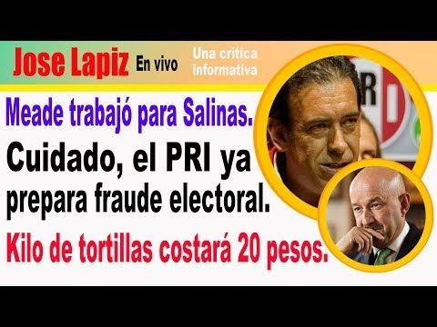 El PRI ya prepara fraude electoral con todo su grupo de ratas