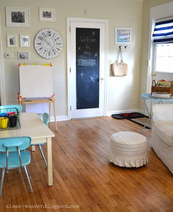 Craft Room Aimee At My Pink Life