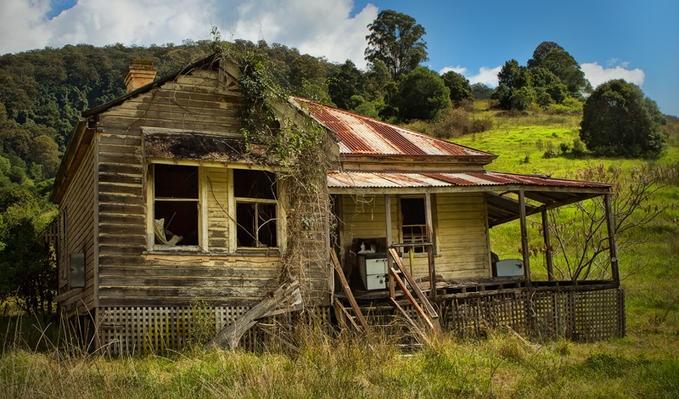 """Tumbledown Cottage"" -- [Barrington Tops, NSW, Australia]~[Photographer Janie News - April 2 2012]'h4d-64.2012'"