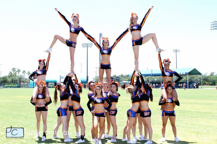 Cheergyms.com Cheerleading Pyramid