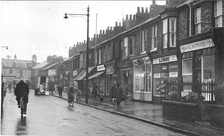 MORE ADDED: 157 photos of 1960s York (From York Press). Bishopthorpe Road.