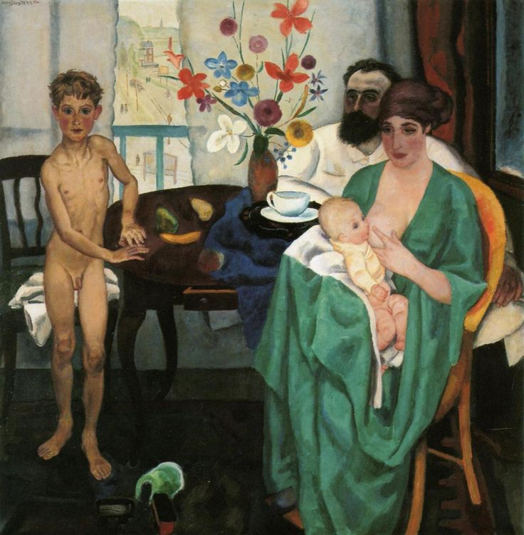 Jan Sluijters - 1881-1957 - the Painter's Family