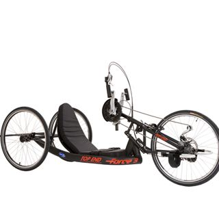 Invacare Top End Force 3 (vastframe handbike, fixed frame handcycle)