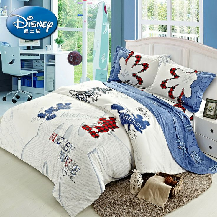 Mickey Mouse Gloves White Disney Bedding