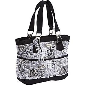 Donna Sharp Elaina Bag, Salt & Pepper   - Salt & Pepper - via eBags.com!