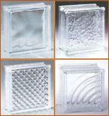 Glass blocks in bulk ... including pre-drilled glass blocks.