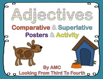 Free Posters: Adjectives - Comparative and Superlative