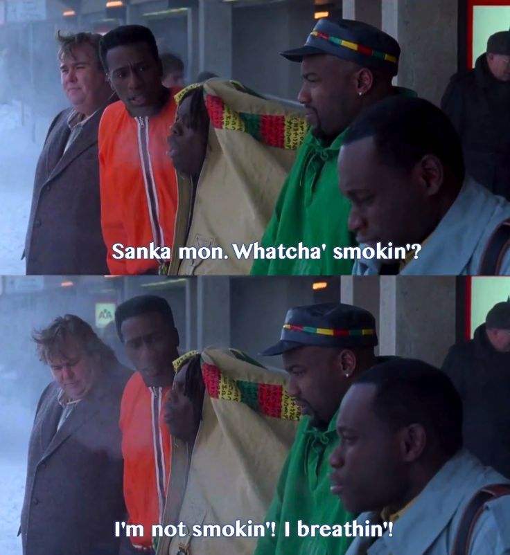 Cool Runnings=best.movie.ever. Mo and I literally quote from this movie everyday.