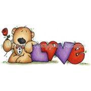 Tuxedo Love Bear