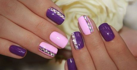 Nageldesign Violett Nageldesign Pinterest Nails Nail Art And