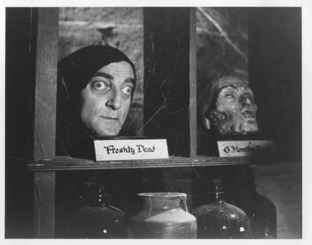 """Fortemente impressionato proprio dalla Comedy Machine, Gene Wilder scrisse di getto """"Frankenstein Junior"""", una storia incentrata sul destino del nipote dello scienziato, ispirandosi soprattutto a """"La moglie di Frankenstein"""" di James Whale. «Sono la sola persona mai apparsa in un film horror che non ha bisogno del trucco», disse Marty riferendosi alla sua parte. Era il 1974 e il film diretto da Mel Brooks divenne campione di incassi."""