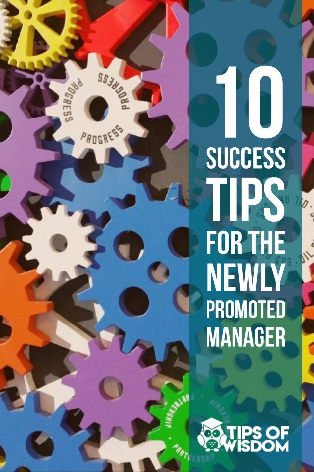 10 Success Tips for the Newly Promoted Manager - Marketing, Business and Life Advice