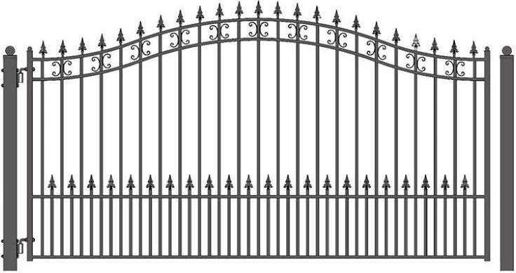 Wrought Iron Driveway Gates Wrought Iron Driveway Gates Driveway Gate Gates And Railings