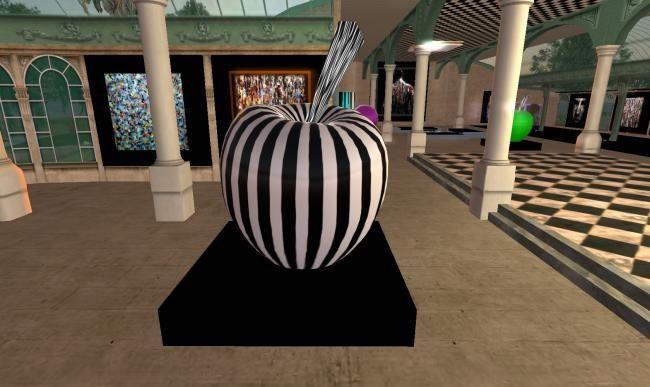 Apples 04 - sculpture ©2010 par TEHOS -