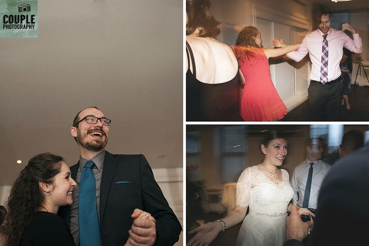 letting it all hang loose. Real Wedding by Couple Photography