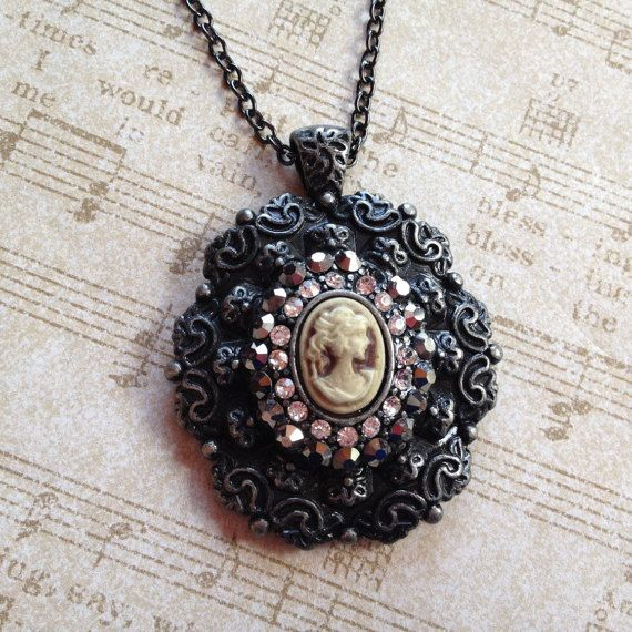 Beautiful Cameo Pendant, Cameo, Pendant, For Her, Gift Ideas