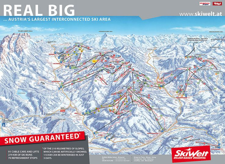 Skiwelt Wilder Kaiser Brixental