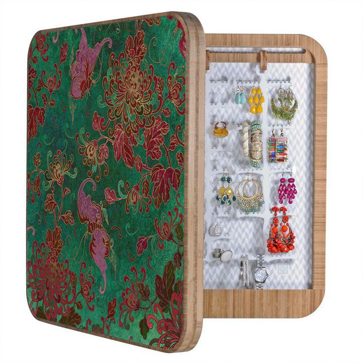 Belle13 Chrysanthemum Garden BlingBox | DENY Designs Home Accessories