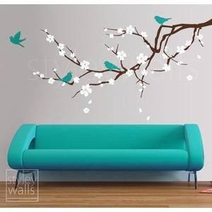 Branch Wall Decal Blossoming Almond