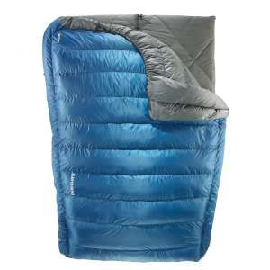 Therm-a-rest Vela Down Blanket - Double Last year when we first started stocking The Therm-a-Rest Vela Double Down Blanket we described it as the perfect piece of kit for technical yet luxurious camping With the room to move freely enjoy a  http://www.MightGet.com/january-2017-11/therm-a-rest-vela-down-blanket--double.asp