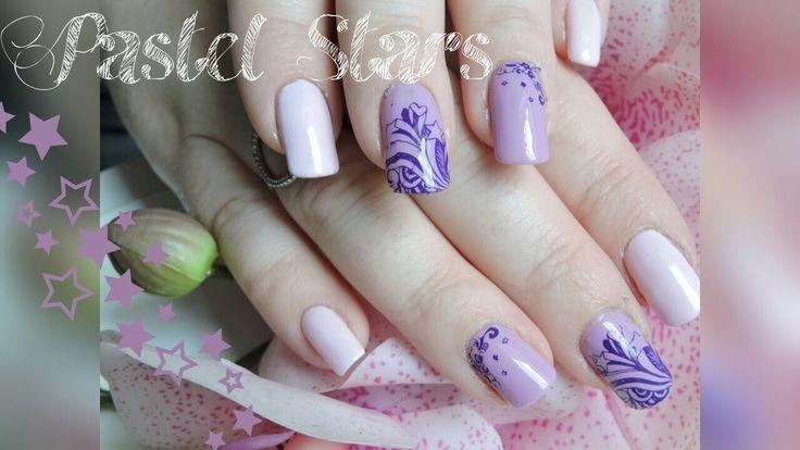 [ Tutoriel ] nail art Pastel Stars