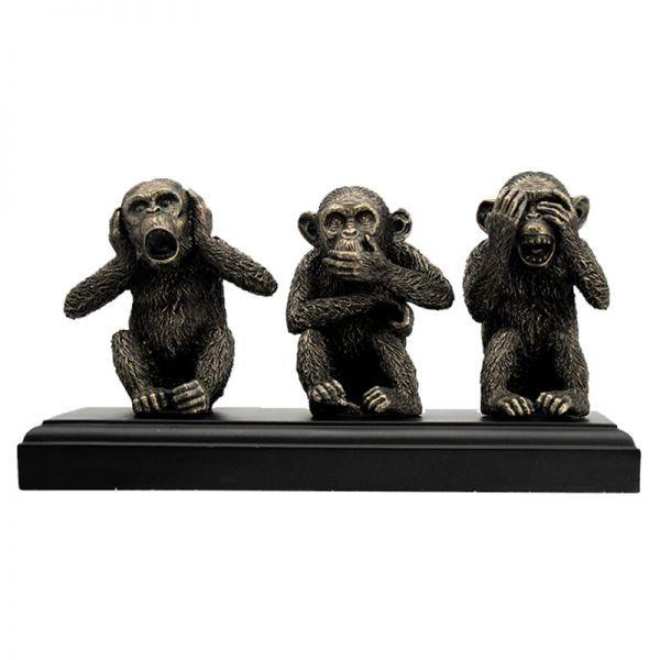 Made No Monkey Evil See No Evil Trunk No Speak Antique Evil Ivory Elephant Hear