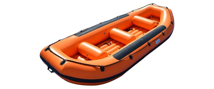 14.1 Ft White Water River Raft Inflatable Boat Raft by Bris Boat