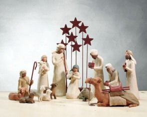 Nativity set of 14 - Willow Tree by Demdaco - Nativity Collection  - Yes, Please!