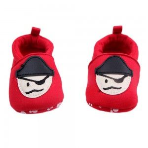 Cartoon Cotton Baby Toddler Shoes With Soft Bottom