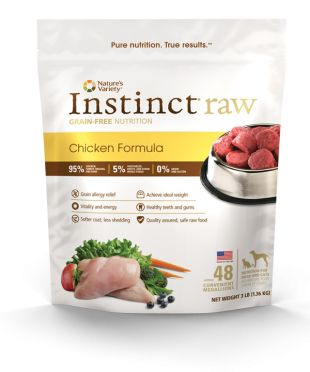 Nature S Variety Instinct Grain Free Chicken Formula Canned Dog Food