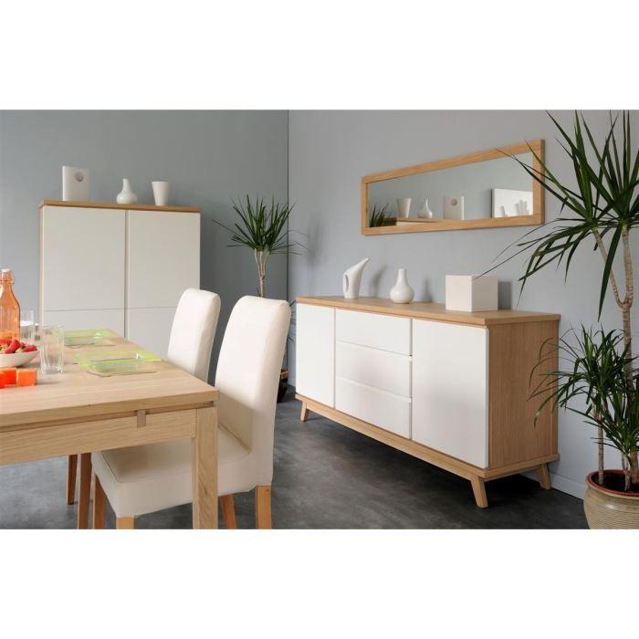 les 25 meilleures id es de la cat gorie cdiscount buffet sur pinterest buffet blanc laqu. Black Bedroom Furniture Sets. Home Design Ideas